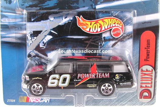 HOT WHEELS Racing Recreational Series Pickup Truck Ryan Newman or Jeff Burton