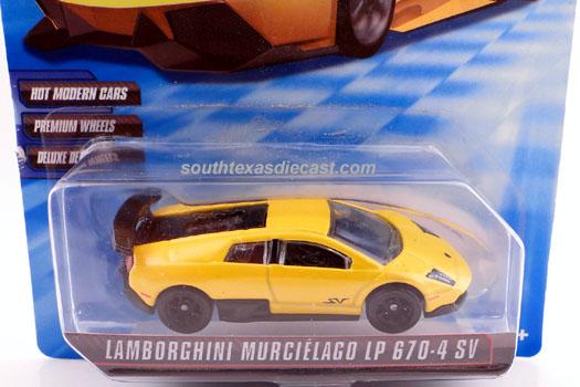 Hot Wheels Guide Lamborghini Murcielago Lp 670 4 Superveloce