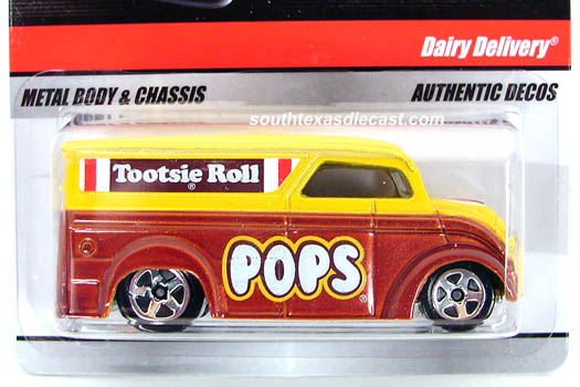 Hot Wheels Delivery (Sweet Rides) P8576