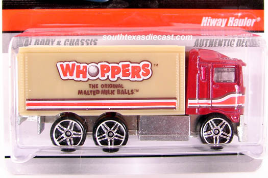 Hot Wheels Delivery (Sweet Rides) P8582