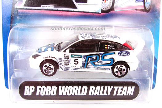 Hot Wheels Guide Ford Focus Rally