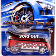 2006 HW Mystery Car Customized VW Drag Bus #223
